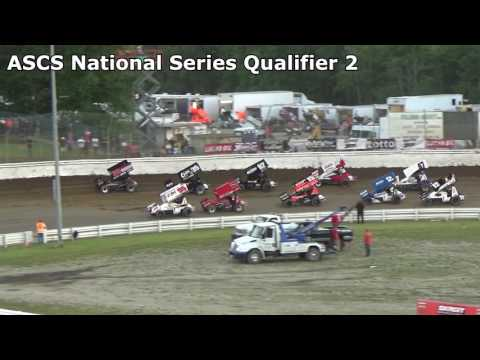 Skagit Speedway, Dirt Cup 2017, Night 1, ASCS National Series Qualifiers 1,2 and 3