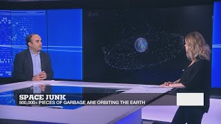 Cleaning up the universe of its space junk