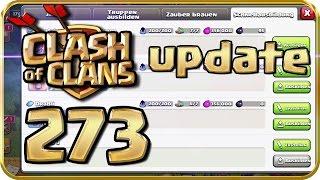 Let's Play CLASH of CLANS Part 273: Das Update! Neue Ausbildungsart & Freundschaftskriege