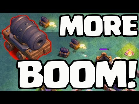 Clash of Clans Cannon Cart UPDATE! More BOOM Coming SOON!