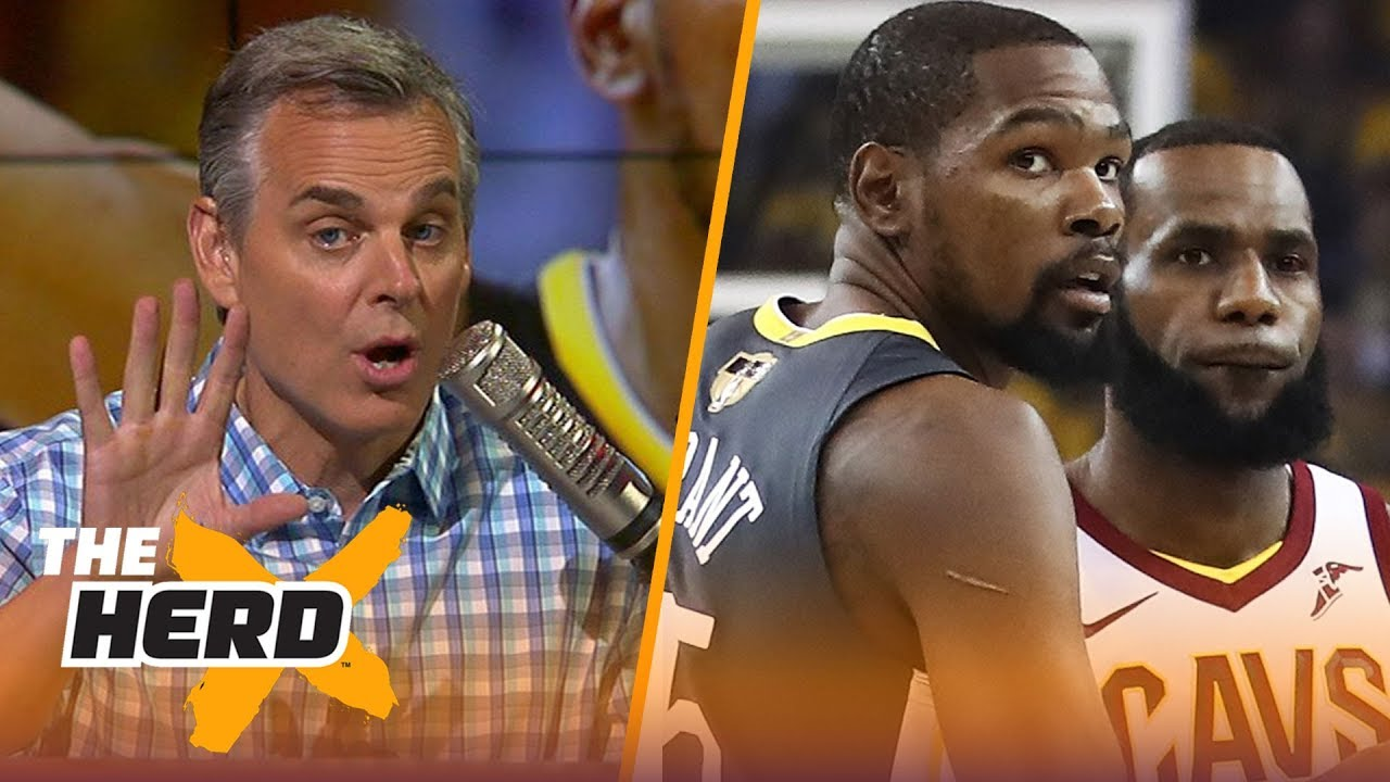 3dd10724b617 Colin Cowherd on LeBron vs Kevin Durant in Finals