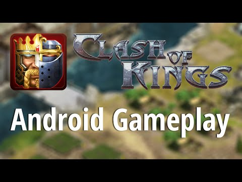 Clash Of Kings: Android Gameplay