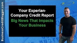 Experian Company Credit Report