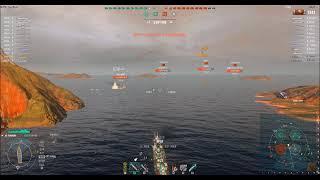 【WOWS】一般的実況57 パンアジアTier6駆逐艦Fushun(フーシュン) 逆転雷撃戦