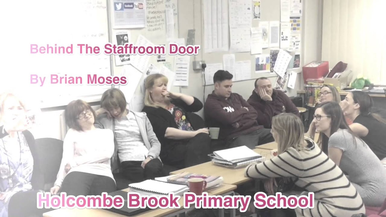 sc 1 st  YouTube & Behind the Staffroom Door - Brian Moses Poem - YouTube