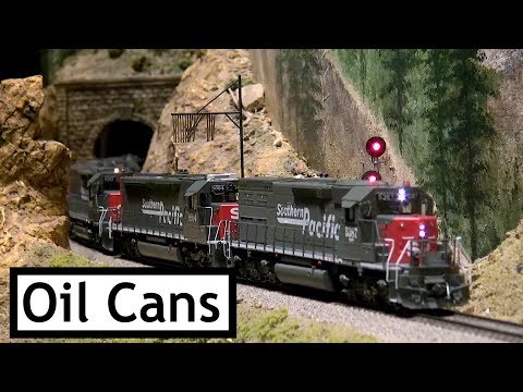 """Colorado Model Railroad Museum Feb 2019 Extreme Trains  – """"The Oil Cans"""""""
