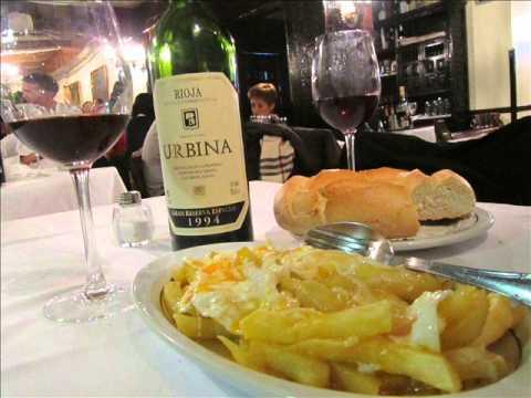 Restaurante Casa Lucio en Madrid.wmv