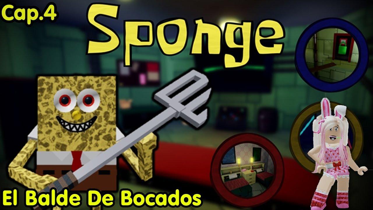 Roblox Sponge Cap.4 Nuevo mapa! Jugamos el Balde De Bocados!! Esta muy divertido!