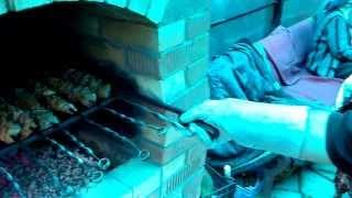Печь барбекю своими руками. Испытание(, 2013-09-05T16:37:32.000Z)