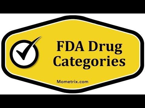 FDA Drug Categories