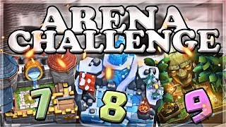 Arena Challenge 7-8-9 | Clash Royale | Part 3 🍊