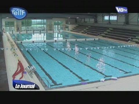 R ouverture du centre aquatique de sarcelles youtube for Centre du plateau piscine