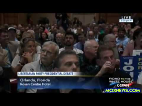 Libertarian Presidential Debate (What All U.S. Constitution Loving Politicians Should Soun