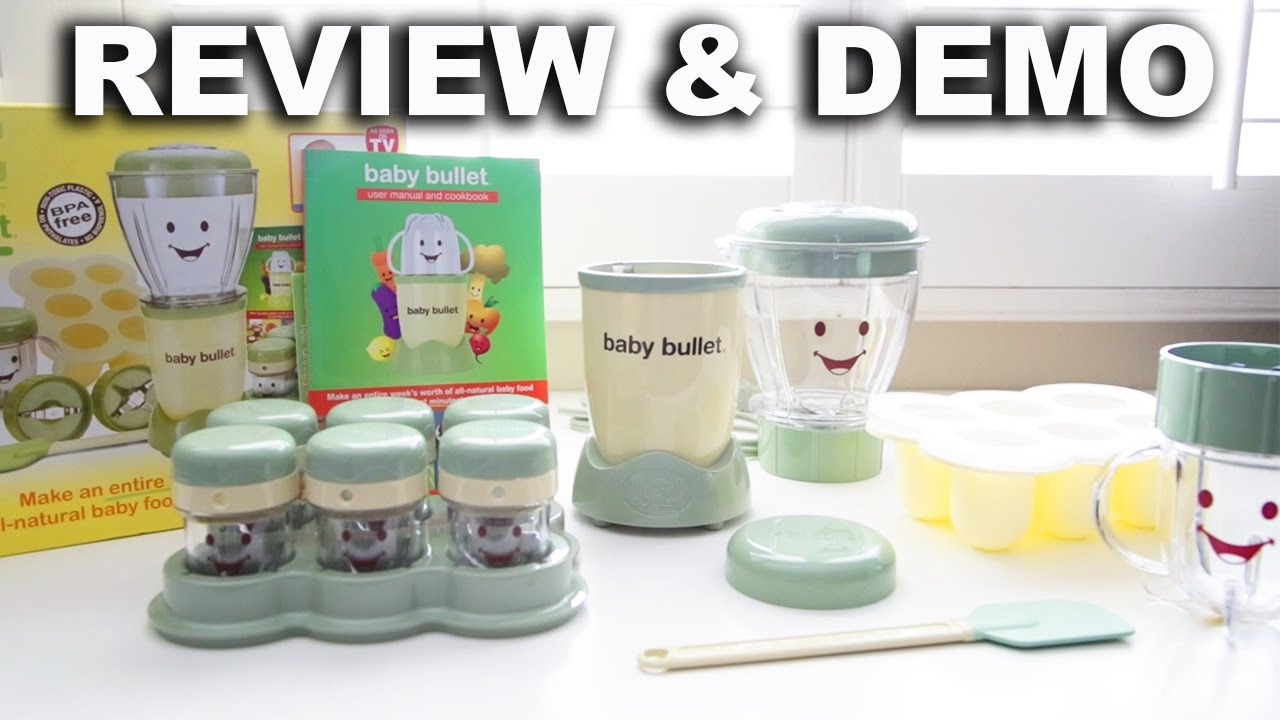Baby Bullet Review and Demo