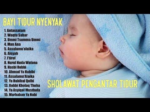 Sholawat Pengantar Tidur Bayi 💙 Sholawat Terbaru 2021 💙 Agar Bayi Tidak Rewel Dengarkan Sholawat