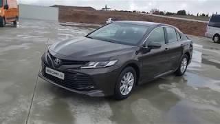 видео Toyota Camry в новой комплектации