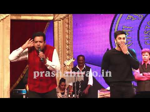 Ranbir kapoor live latest with prashant rao and ritesh deshmukh,bappi lahiri