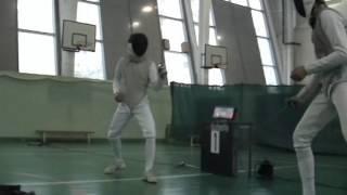 Фехтование на рапирах Москва 2013 Москомспорт Пражская