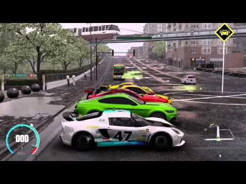 The Crew Car Meet (Drags, Bloopers)