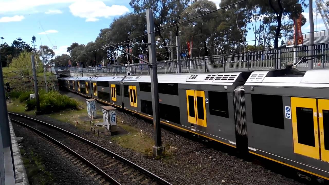 Sydney Trains A11 Near Olympic Park Station