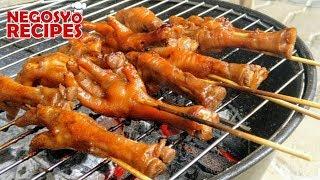 CHICKEN FEET BBQ RECIPE ADIDAS   BBQ BUSINESS PART 5