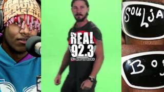 Shia LaBeouf Responds To Soulja Boy Beef! (Freestyle)