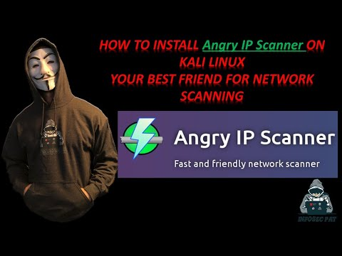 How To Install Angry IP Scanner Tool In Kali Linux Video 2020 - Make Network Scanning Simple!