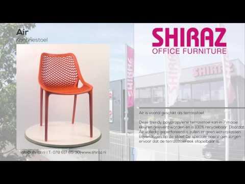 365º view | Kantinestoel Air | Shiraz Office Furniture