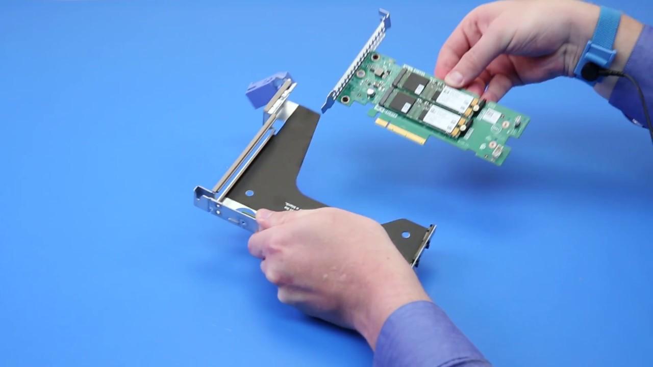 Dell EMC PowerEdge R440: Remove/Install M 2