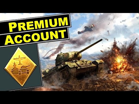📘 Premium account in War Thunder [explained with numbers]