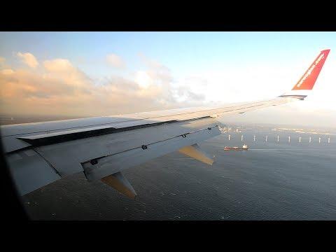BREATHTAKING Boeing 737 Approach & Landing in Copenhagen Kastrup