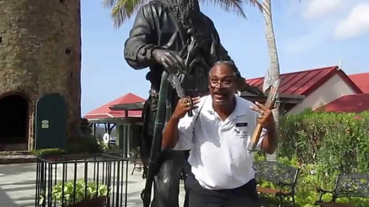 Annaberg Ruins After Hurricane Irma On St John Us Virgin Islands