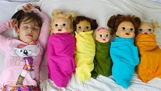 BABY ALIVE APRENDENDO CORES Learn colors with Baby, Are you sleeping brother John Nursery Rhyme kids