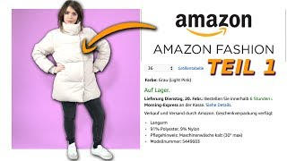 Ich teste Amazon Fashion! (Teil1)