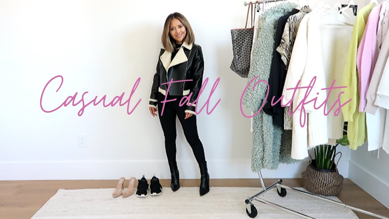 [VIDEO] - Casual Fall Outfits 2 | Fall Lookbook & Outfit Ideas 2019 2
