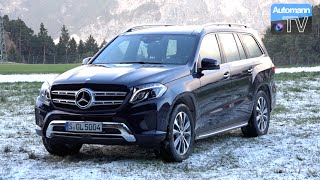 2017 Mercedes-Benz GLS 500 (455hp) - DRIVE & SOUND (60FPS)