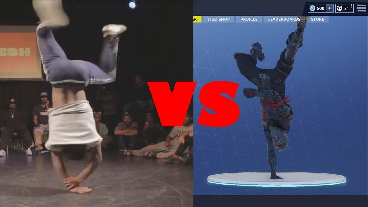 BREAKIN Fortnite Dance In Real Life!!! - YouTube