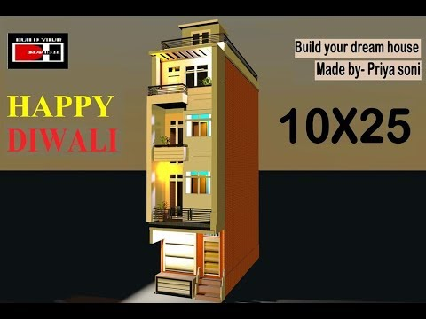 10X25 according to vastu made by priya soni on youtube channel build your dream house