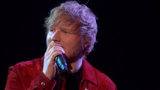 ed sheeran supermarket flowers live from the brits 2018
