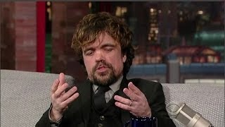 Download Peter Dinklage Interview - Late Night With David Letterman - 26th March, 2014 Mp3 and Videos