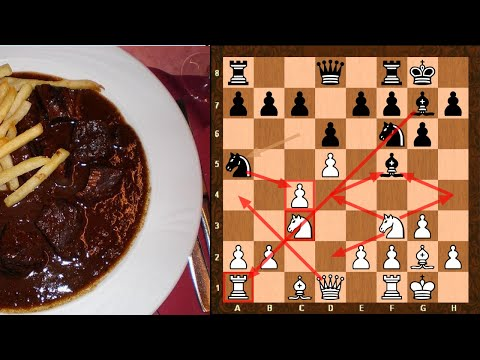 Alpha Zero Style Stoofvlees Chess Opening Novelty Of Year Candidate! || Vs Scorpion | TCEC 16