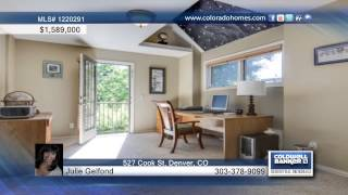 Home For Sale In Denver, Co | $1,589,000