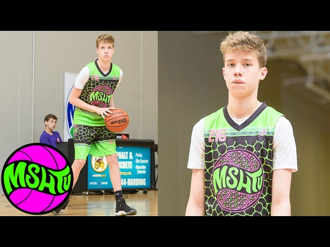 NIcholas Erickson DROPS DIMES at 2016 MSHTV Camp - Class of 2020