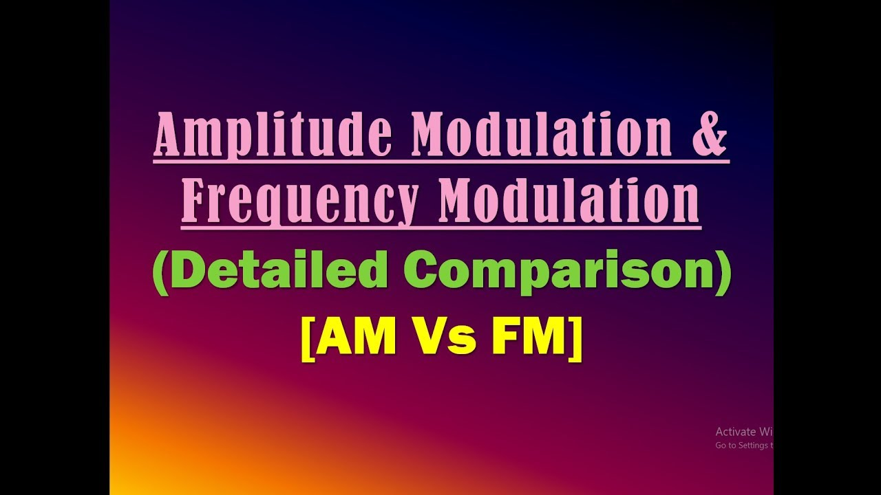 Amplitude Modulation And Frequency Am Vs Fm Transmitter Circuit Using Transistors Gadgetronicx Angle Ppt