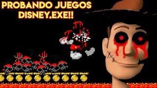 Probando Videojuegos Aterradores Disney.EXE con Pepe el Mago