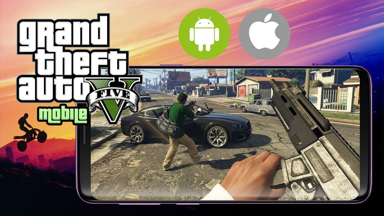 GTA 5 Android (Download GTA 5 Android & iOS) [Download GTA 5 APK]  #Smartphone #Android