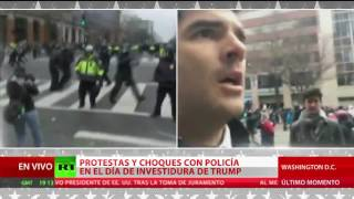 Protestas contra Trump en Washington