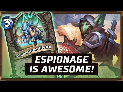 Espionage Is Awesome! | Shuffle Rogue 2018 | The Boomsday Project | Hearthstone