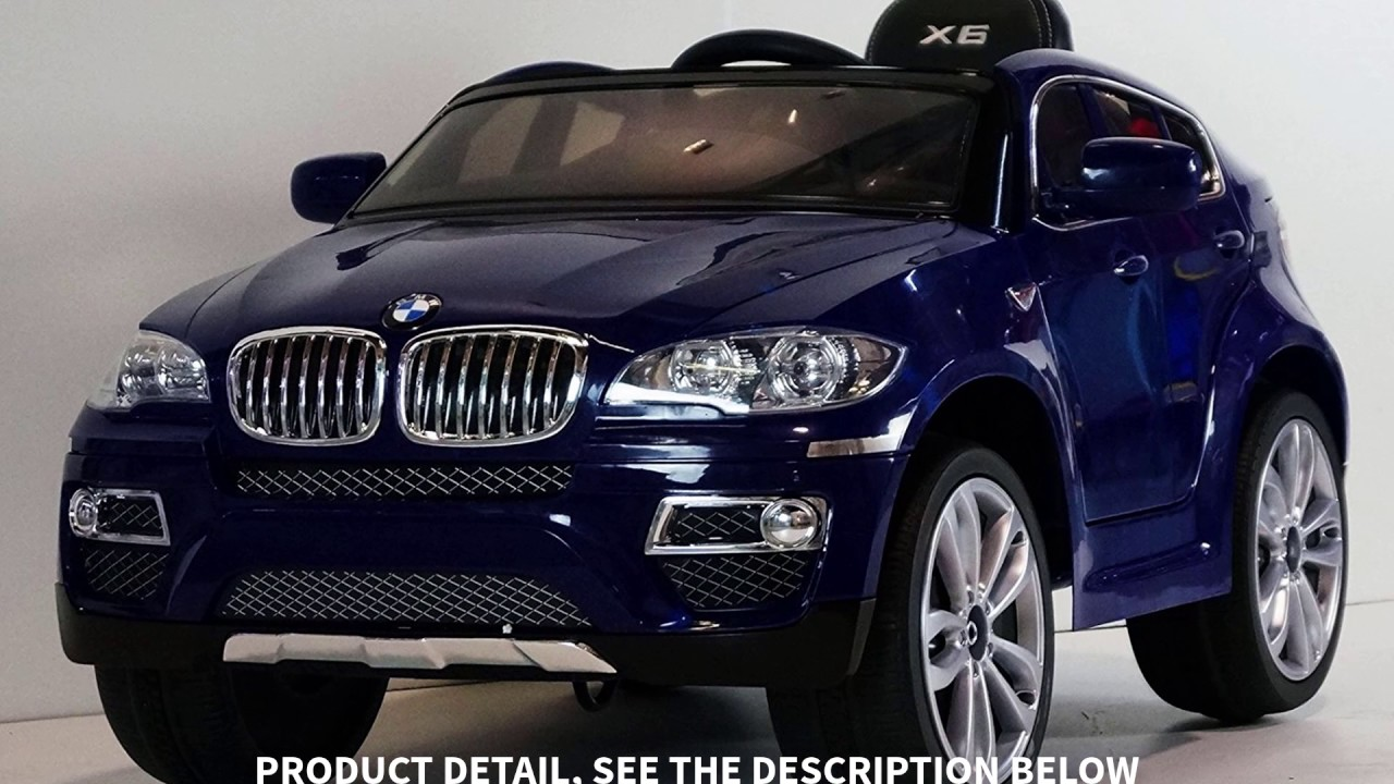 Children Ride On Electric Car Baby Blue Bmw X6 Panda