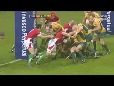 Wales Vs Australia 2009